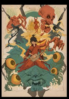 DeviantArt and Laika Studios have come together to bring you the new Kubo and the Two Strings Story Within Contest! Create an illustration showing Kubo . Kubo and the Two Strings Contest Semi-Finalists Stop Motion Movies, Laika Studios, Samurai, Kubo And The Two Strings, Manga Anime, Inspirational Movies, Animation Film, Box Art, Disney Movies