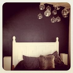 @westelm bedding and @cb2 glass orbs. <3