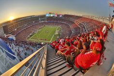 "Santa Clara is featured in the 2017 Premier Travel Media ""Sports Planning Guide! San Francisco Travel, San Francisco 49ers, Santa Clara University, Nfl Stadiums, Great America, Visit Santa, Top Destinations, National Football League, Pacific Northwest"