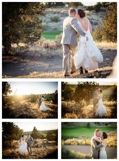 What a beautiful time of day at Brasada Ranch, just before the sun crawls behind the Cascade Mountains. The rays of light highlight this Central Oregon couple. Light Highlights, Cascade Mountains, Local Photographers, Central Oregon, Ranch, Scenery, Sun, Couples, Wedding