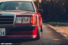 Mercedes Benz 190e, Mercedes Car, Winston Red, Rauh Welt, Race Engines, Stella Artois, Roll Cage, Bucket Seats, 13 Year Olds