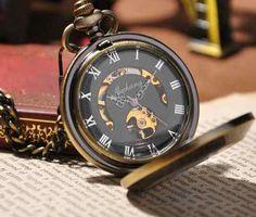 relógio de bolso russo bronze envelhecido