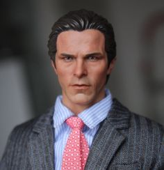 """43.65$  Know more - http://aiqlj.worlditems.win/all/product.php?id=32765150697 - """"1:6 scale male Figure accessories Batman Bruce Wayne Christian Bale head shape carved for 12"""""""" Action figure doll"""""""