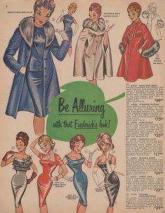 Be Alluring With That Frederick's Look    Page 04 of the Fall 1964 Frederick's of Hollywood catalog.