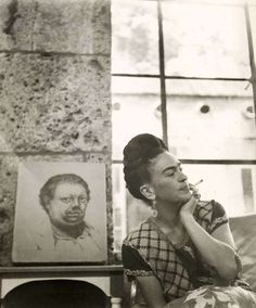 Frida with Diego