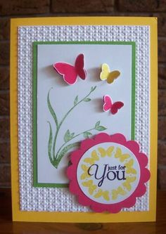 #papercraft #card SUO Precious Butterflies by Sarah B - Cards and Paper Crafts at Splitcoaststampers