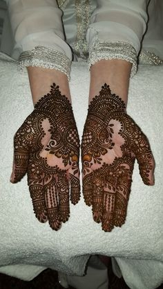 Gallery - Henna By Cocolily Dulhan Mehndi Designs, New Mehndi Designs, Henna Tattoo Designs, Mehendi, Wedding Henna, Mehndi Images, Henna Art, Tatoos, Bridal