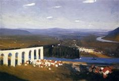 Valley Of The Seine - Edward Hopper - 1908
