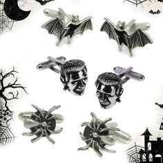 Happy Halloween!!!  #cufflinks #Halloween #MensFashion #Spooky