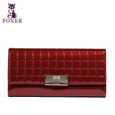 FOXER Famous 2016 Brand Women Leather Long Wallet Luxury Female Purse #clothing,#shoes,#jewelry,#women,#men,#hats,#watches,#belts,#fashion,#style