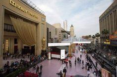 Oscars 2015 - outdoor area