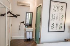 The bathroom at the Praktik Garden Hotel in Barcelona, Spain.