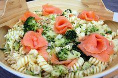 Smoked Salmon and Broccoli Pasta Salad