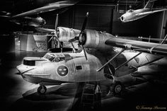 A Consolidated Catalina, named as TP 47 in the Swedish Airforce. The aircraft was mainly used as a sea rescue airplane when it was in active duty. The picture was taken at the Swedish Airforce Museum in Linköping,