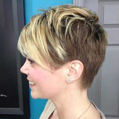 One of my favorites two toned pixie