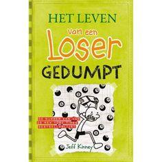 Winnaar van de prijs van Nederlandse Kinderjury - Het leven van een loser - deel 8 - Gedumpt, Jeff Kinney - 10-12 jaar