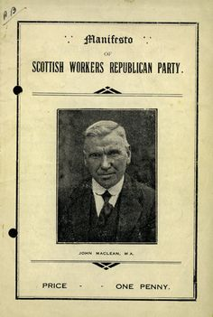 a document report on Glasgow`s Red Clyde Movement
