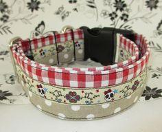 Hund: Halsbänder - Halsband **Rock on** - ein Designerstück von Pimp-your-World bei DaWanda