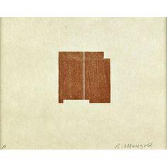 Robert Mangold, 7 works; Seven Original Woodcuts/Prints