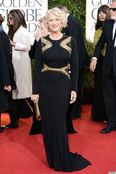 Helen Mirren Golden Globes 2013