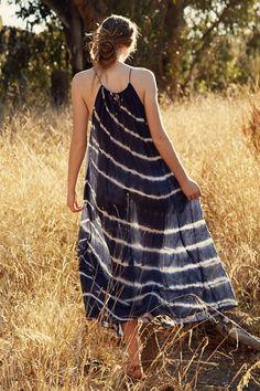 FILIPA TIE DYE SILK COTTON VOILE MAXI DRESS, Velvet by Graham & Spencer $249.  http://velvet-tees.com/filipa-tie-dye-silk-cotton-voile-maxi-dress.html