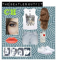 """The Beatles Outfit "" by carolina-herrera0 on Polyvore featuring Wet Seal, Topshop, Vans, women's clothing, women's fashion, women, female, woman, misses and juniors"