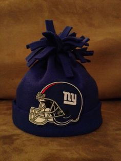 NFL New York Giants Stocking Cap Hat for Baby by hollieshobbies1 90d3d944ce6