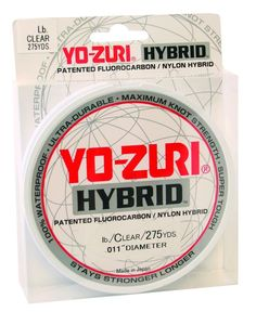 Yo-Zuri 275-Yard Hybrid Monofilament Fishing Line, Clear, 20-Pound *** Check out this great product.