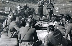 Francisco Franco at lunch in the front line Asturias Spain 1937 O Donnell, Palawan, Spanish War, Asturias Spain, Leyte, Resume Writing Services, Teacher Education, 21st Century, World War