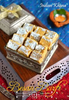 Besan Mawa Burfi is easy, simple sweet recipe perfect for Diwali, Holi for any festival, celebration.