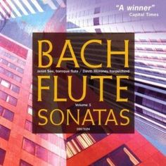 Amazon.com: Bach: Flute Sonatas, Vol. 1: Janet See and Mary Springfels Davitt Moroney: Music