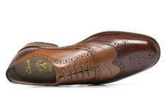f03eb862e2ef3 Clarks Penton Limit (Marron) - Chaussures à lacets chez Sarenza (227500)  Derbies