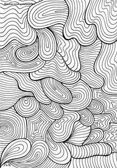 Hard Coloring Pages   Difficult Abstract Coloring Pages Another Cute ...