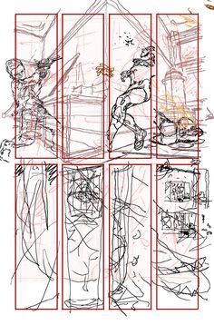 Rough 39 - The Multiversity : Pax Americana by #Morrison #FrankQuitely