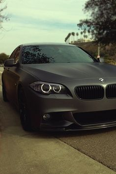 My infatuation with Matte Black finishes right now. BMW M3 #cars