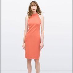 Halter Neck Dress Zara