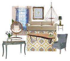"""Living Room Goals"" by metalroses on Polyvore featuring interior, interiors, interior design, home, home decor, interior decorating, DAY Birger et Mikkelsen, Magical Thinking, Joybird Furniture and Dot & Bo"