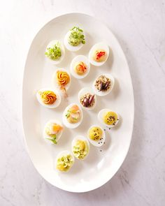 Martha Stewart Shares Her Easter Entertaining Tips // Easter Deviled Eggs