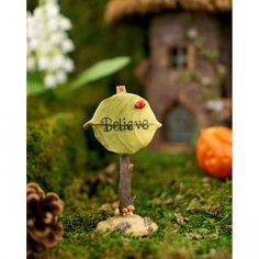 Believe Fairy Sign - Top Collection Fairy Garden - Fairy Signs and Furniture - FAIRY GARDENS - GIFTS