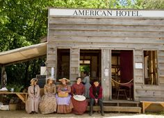 In Columbia State Historic Park, a preserved Gold Rush town, you can pan for gold and stay in a restored 19th-century inn.