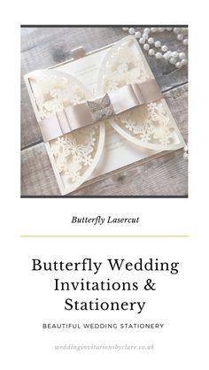 Bespoke Wedding Invitations, Butterfly Wedding, Bespoke Design, Gold Wedding, Invitation Cards, Champagne, Wedding Inspiration, Bling, Glitter
