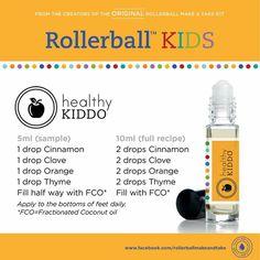 Healthy kiddo rollerball blend