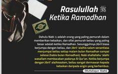 KEDERMAWANAN RASULULLAH KETIKA RAMADAN Islamic Quotes, Ramadan, Memes, Meme