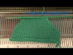 SSK or S1, K1, PSSO Decrease on the knitting machine