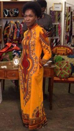 Long African dress! ~African fashion, Ankara, kitenge, African women dresses, African prints, Braids, Nigerian wedding, Ghanaian fashion, African wedding ~DKK