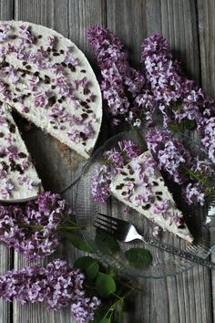 Lilac cream cake                                                       …