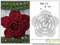 Un toque de color …y un poco de alegría…. | Mi Rincon de Crochet
