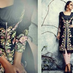 14 Black with Embroidery Punjabi Embroidery, Black, Needlepoint, Black People, Drawn Thread, Cut Work, Embroidery Stitches
