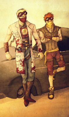 DC Wasteland - Flash and Kid Flash by the-unbrilliant.deviantart.com on @deviantART