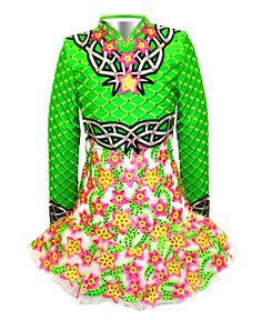 Elevation Design Irish dance dress.